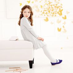 Long - Sleeve Tutu Dress | The White Company