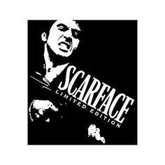 SCARFACE Vinyl Sticker Decal WallArt Famous Movie Film Al Pacino Tony Montana