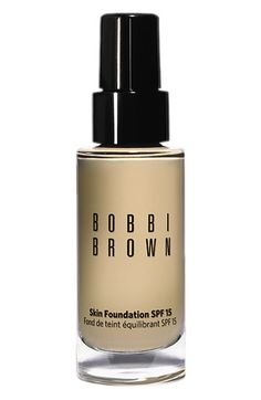Bobbi Brown Skin Foundation SPF 15 Another winner for me in the foundation category. Just like real skin.