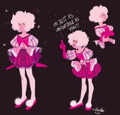 watermelonkiss: these are from back when a single pale rose… Lapis And Peridot, Steven Universe Gem, Make You Cry, My Arts, Fan Art, Concept, My Love, Rose, Pink