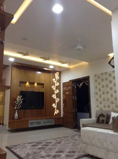 Interior Designer in Thane Bedroom Tv Unit Design, Lcd Unit Design, Tv Unit Furniture Design, Wall Unit Designs, Living Room Tv Unit Designs, Bedroom False Ceiling Design, Tv Wall Design, Tv In Bedroom, Tv Cupboard Design