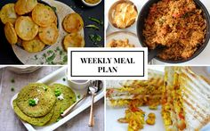 Have you tried our weekly Meal plans? here's the meal plan for the coming week-  it has healthy breakfasts like red rice dosa  to  great lunches  like palak paratha or pav bhaji and filling dinners in the night.Just plan ahead and keep your groceries ready.  http://ift.tt/2bEDbyb #Vegetarian #Recipes