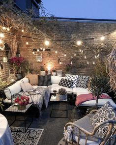 Bohemian Garden Backyard and Patio Ideas Outdoor Rooms, Outdoor Gardens, Outdoor Living, Outdoor Furniture Sets, Outdoor Decor, Cozy Furniture, Bohemian Furniture, Recycled Furniture, Affordable Furniture