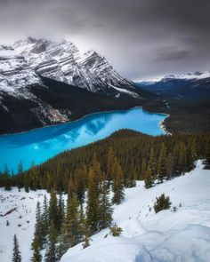 Peyto Lake (Banff, Alberta) by Simon Ennals Photography Travel Honeymoon Backpack Backpacking Vacation Lake Photography, Landscape Photography, Creative Photography, Banff National Park, National Parks, Beautiful Places In America, Light In, Winter Scenery, Photos Voyages