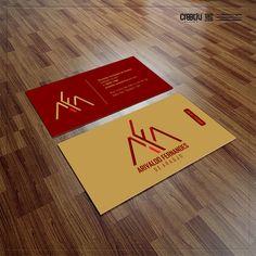 Desenvolvimento de Logotipo e Cartão de Visitas - Arivaldo Fernandes