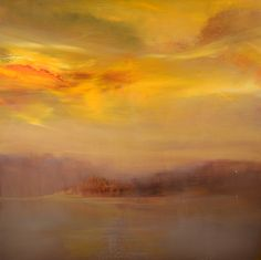 """Morning Mist, Cloudburst"" by Maurice Sapiro"