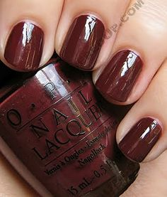 Can You Tapas This, my fall OPI color......love