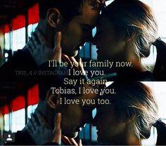 Tris and Four Tris And Tobias, Tris And Four, Divergent Fandom, Divergent Trilogy, Tfios, Insurgent Quotes, Divergent Insurgent Allegiant, Divergent Quotes, Fandom Quotes