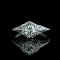 .60 Carat Brilliant Cut Diamond in Vintage Setting - I was sad when this sold