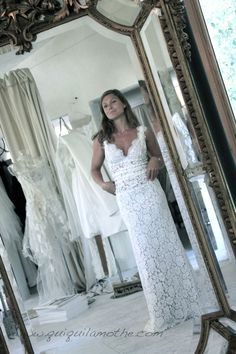 ... Vintage wedding dress on Pinterest  Robes, Vintage and Vintage hippie
