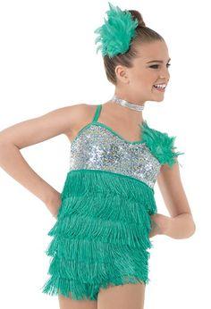 Weissman™   Sequin Fringe Mini Dress