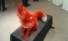 Shattered Glass Animal Sculpture Marta Klonowska -  600x360