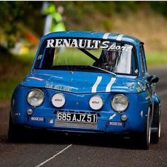 Renault r8 gordini..... Fantastic sporting version of the excellent Renault R8..... very commonplace in their day.... but very, very rare today! #RenaultR8Gordini #R8Gordini
