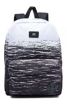 97f30b51ef Vans Men s Old Skool II Backpack White Dark Water Old Skool