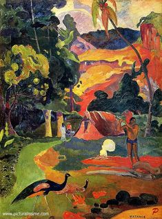 Paul Gauguin Matamoe