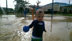Wet water park! Fun!
