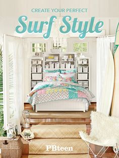 Relaxed, colorful and endlessly summery, this surf inspired collection takes you from the beach to the bedroom.