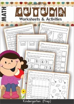 Autumn / Fall Math Worksheets & Activities No PrepThey can be used in the classroom with the whole class, in centers or with small groups, as early finisher work or as homework.The worksheets and activities included in this unit are:1. Counting worksheets (3 pages)2.