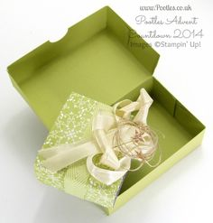 Pootles Advent Countdown #19 Chocolate Box Tutorial open