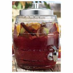 nice Home Essentials 3462 Del Sol Barrel 1.32 Gallon Jug,  #HomeEssentialsJuicers&Blenders