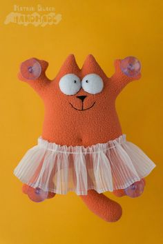 Кот Саймона в юбочке. #Handmade #Toy #Hobby #Cat #Кот #КотСаймона #Игрушка