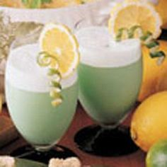 Leprechaun Lime Punch