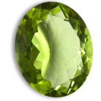 Shop online for high quality Peridot oval shape gemstone in 12X10mm up for sale at the wholesale prices.