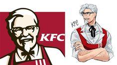 Khi các thương hiệu đồ ăn nhanh bỗng trở thành những soái ca anime đẹp ngất ngây