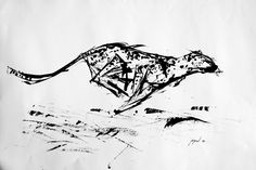 gepard - Martin Eide Charcoal Drawing, Moose Art, Ink, Abstract, Drawings, Artwork, Photography, Animals, Animales