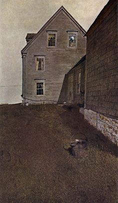 Andrew Wyeth Andrew Wyeth Art, Jamie Wyeth, Nc Wyeth, National Gallery Of Art, American Artists, Art Museum, House Styles, Tempera, Washington Dc