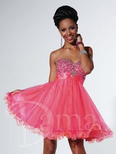 Damas Collection Dress 52327 for #Quinceañera. #tjformal