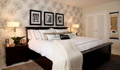An elegant master bedroom by Glen Peloso.