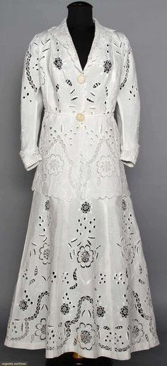 Walking Suit (image 1) | 1900s | linen | Augusta Auctions | April 9, 2014/Lot 175