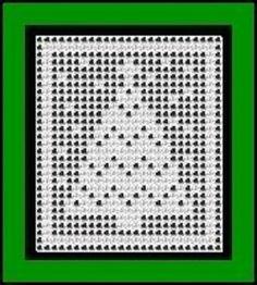 5 Free filet crochet Christmas tree patterns