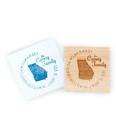 Love this Georgia Personalized Stamp by Expect Personality on #zulily! #zulilyfinds