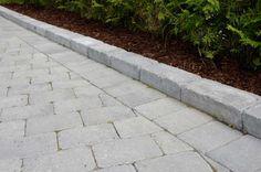 #ASAK Miljøstein #ModenaFliser Sidewalk, Garden, House, Ideas, Garten, Home, Side Walkway, Lawn And Garden, Walkway