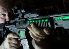 Electro-Luminescent Custom KWA M4 AEG