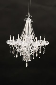Dollhouse Furniture Chandelier Miniature Chandelier Non Electic Lamp #112ScaleMiniature