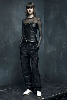LOOK   2015 PRE-FALL COLLECTION   ALEXANDER WANG   COLLECTION   WWD JAPAN.COM