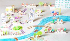 Arhitectura pentru cei mici. http://moodboards.ro