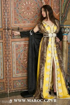 MOROCCAN FASHION - Yellow Tones - #/\/\-\