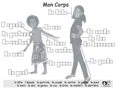 My Body - English Worksheets French Teacher, Teaching French, Teaching Spanish, Elementary Spanish, French Lessons, Spanish Lessons, English Lessons, Spanish Class, The Human Body