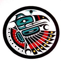 Native American Art   northwest fine art   Totem Art  