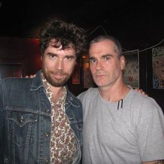 Throwing back to 2011 and the night he met the Paisley Shirt AND the Denim Jacket. by jonwurster
