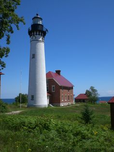 Au Sable Point Lighthouse, Upper Pennisula, Michigan