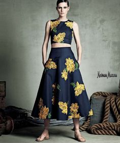 Stella Tenant for Neiman Marcus 'Art of Fashion' Spring 2015 campaign