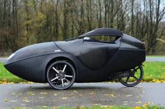 One of the better looking velomobiles, right? Yup!