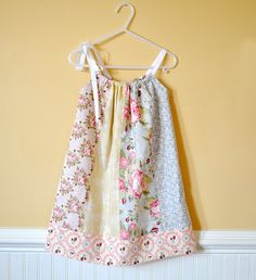 pillowcase dress using fat quarters