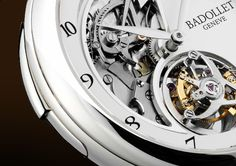 Badollet White Gold Minute Repeater