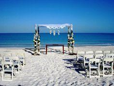 Villa Montana Beach Resort Beach Ceremony